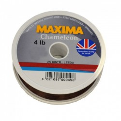 Maxima Chameleon Monofilament Line - 100m Spools - All Breaking Strains