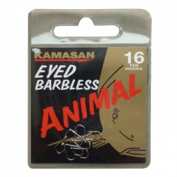 Kamasan Animal Eyed Barbless Hooks - All Sizes