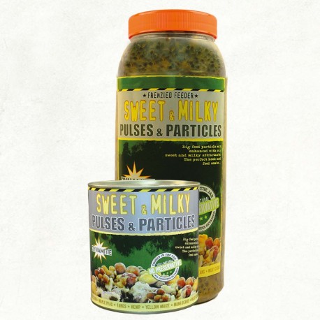 Dynamite Baits Frenzied Sweet & Milky Pulses & Particles - Can or Jar