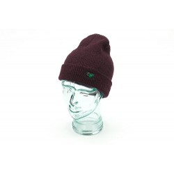 Thinking Anglers Antique Burgundy Beanie Hat
