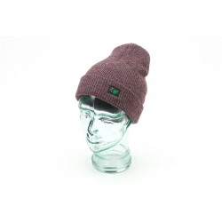 Thinking Anglers Heather Burgundy Beanie Hat