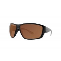 "Fortis ""Vista"" Polarised Sunglasses - Matte Black Frame / 247 Brown Lens"