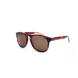 "Fortis ""Hawkbill"" Polarised Sunglasses - Dark Tortoise Shell Frame / Brown Lens"