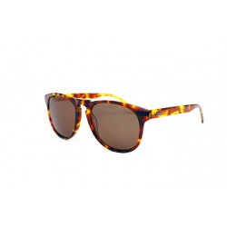 "Fortis ""Hawkbill"" Polarised Sunglasses - Light Tortoise Shell Frame / Brown Lens"