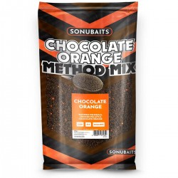 Sonubaits Chocolate Orange Method Mix Groundbait - 2Kg Bag