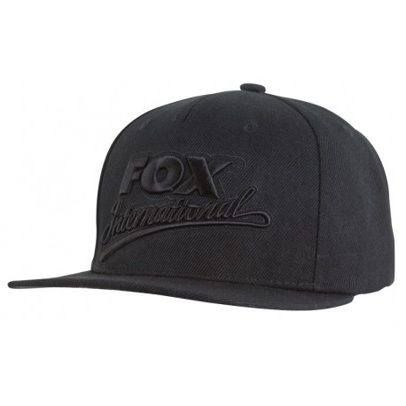 Fox CHUNK Black & Camo Snap Back Cap