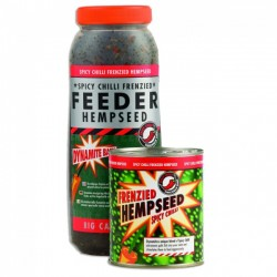 Dynamite Baits Frenzied Feeder Chill Hemp - Can or Jar