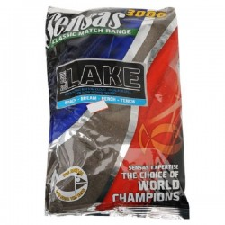 Sensas Lake Black 3000 Groundbait - 1Kg Bag
