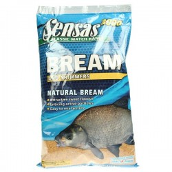 Sensas Bream & Skimmers Natural 3000 Groundbait - 1Kg Bag