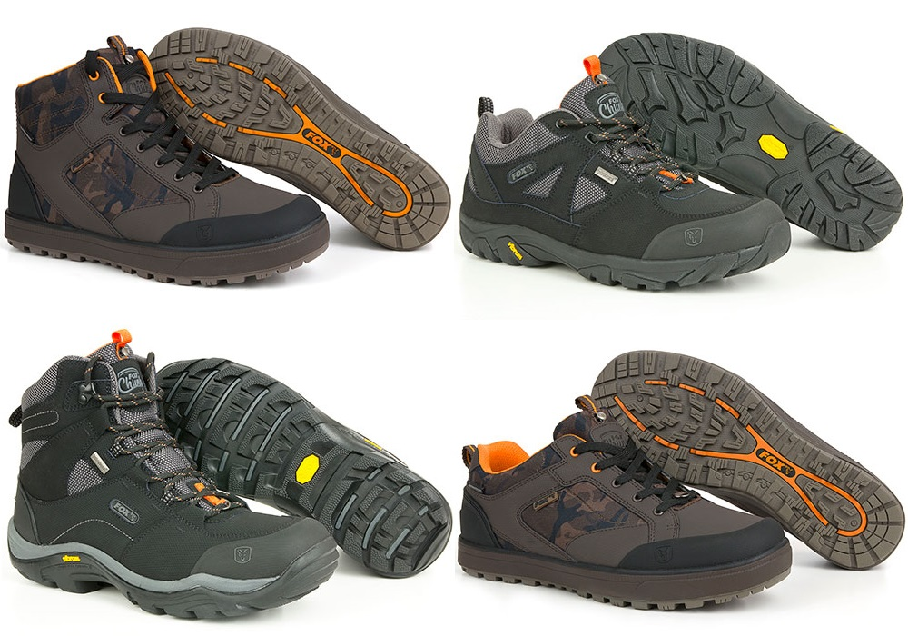 The New Fox CHUNK Footwear Range - AVAILABLE NOW!