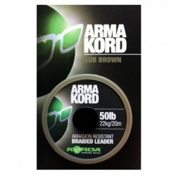 Korda Arma Kord Braided Leader Material - All Sizes