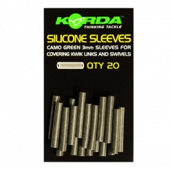 Korda 3mm Silicone Sleeves
