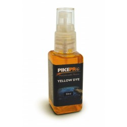 PikePro Yellow Liquid Bait Dye - 50ml Spray Bottle