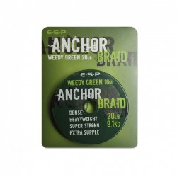 ESP 20lb Anchor Braid Hooklink Material - All Colours