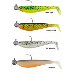 Fox Rage Loaded Zander Pro Shads - Choice of Size & Pattern