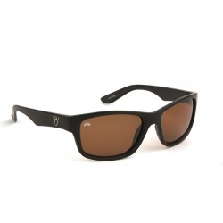 Fox Rage Black Frame / Brown Lens Polarised Sunglasses