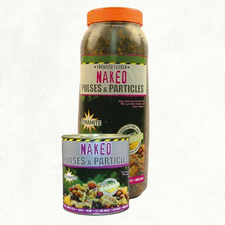 Dynamite Baits Frenzied Naked Pulses & Particles - Can or Jar
