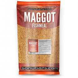 Sonubaits Maggot Fishmeal Groundbait - 2Kg Bag