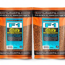 Sonubaits F1 Stiki Method Pellets - All Sizes