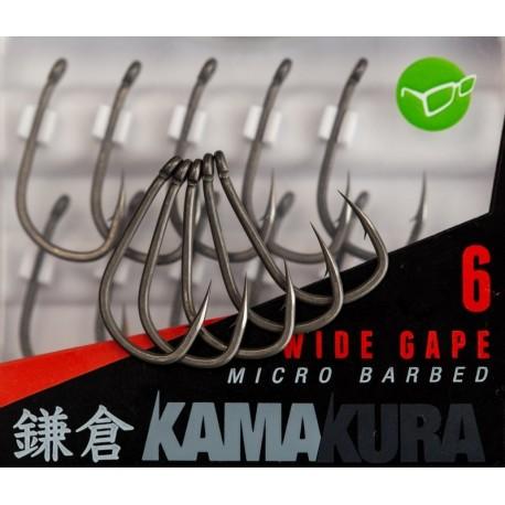 Korda KamaKura Wide Gape Hooks - All Sizes