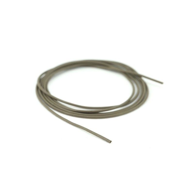 Brand New Thinking Anglers 0.5mm Brown Silicone Tube 1m