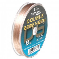 Drennan 50m Double Strength Hooklink Mono - All Sizes