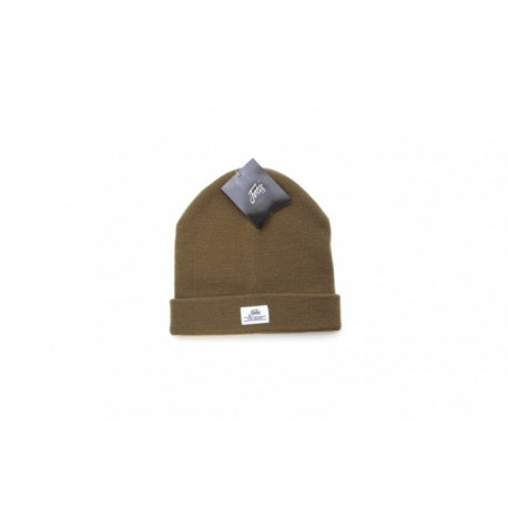 Fortis Olive Green Fold Beanie Hat