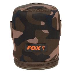 Fox Camo Neoprene Gas Canister Cover / Case