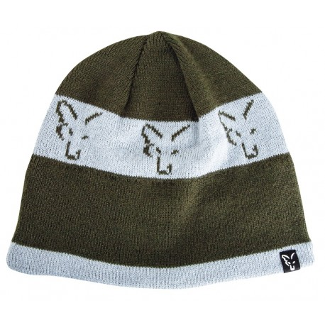 Fox Green & Silver Collection Beanie Hat