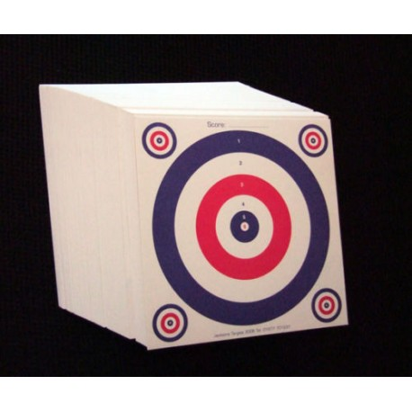 Crosman ASI Two Sided 3 Colour Targets - Pack of 50