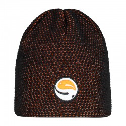 "Guru Black & Orange ""Skull Cap"" Beanie"