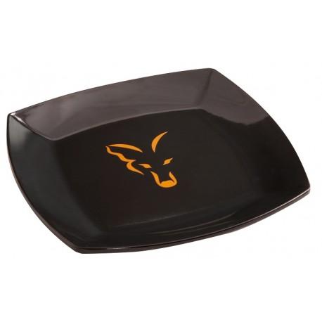 Fox Cookware Range - Square Black Logo Plate