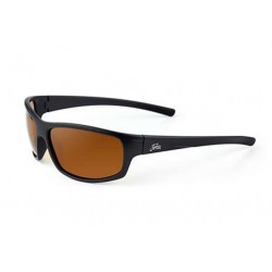 "Fortis ""Essentials"" Polarised Sunglasses - Matte Black Frame / 247 Brown Lens"