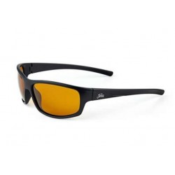 "Fortis ""Essentials"" Polarised Sunglasses - Matte Black Frame / AMPM Amber Lens"