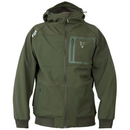 Fox Green & Silver Collection Shell Hoody - All Sizes
