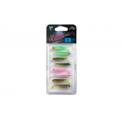 Fox Rage 5cm UV Micro Tiddler Fast Lures - Mixed Packs