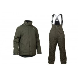 Fox Carp Fishing Green & Silver Winter Suits - All Sizes