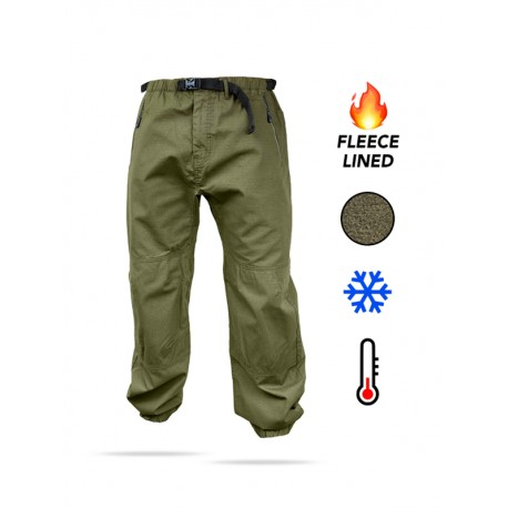 Fortis Elements Fleece Lined Trail Pants - All SIzes