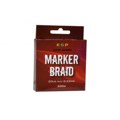 ESP 20lb Marker Braid - 300m Spool