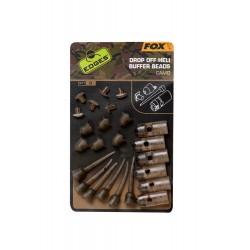 "Fox ""The Edges Camo"" Range - Drop Off Heli Buffer Bead Kit"