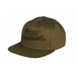 Fox Khaki College Snap Back Cap