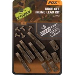 "Fox ""The Edges Camo"" Range - Drop Off Inline Lead Kit"
