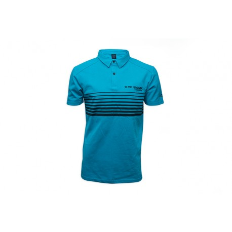 Drennan Aqua Lines Polo Shirts - All Sizes