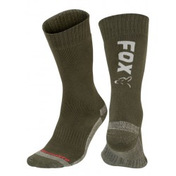 Fox Green & Silver Collection ThermoLite Socks - All Sizes