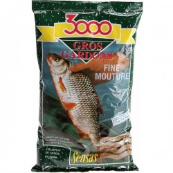 Sensas Gros Gardons Fine Mouture 3000 Groundbait - 1Kg Bag