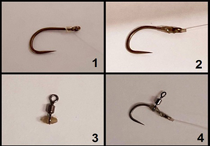Carp Fishing - How To Tie My Surface Rig